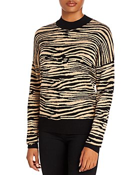 WAYF - Vincent Tiger Intarsia Sweater