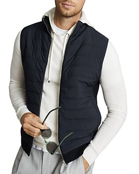 REISS - William Quilted Gilet