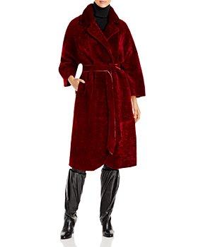 Maximilian Furs - Reversible Shearling Coat