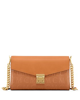 MCM - Minnie Medium Monogram Leather Crossbody