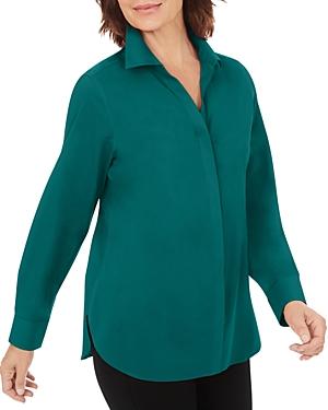 Foxcroft Cecila Button Front Non Iron Shirt-Women