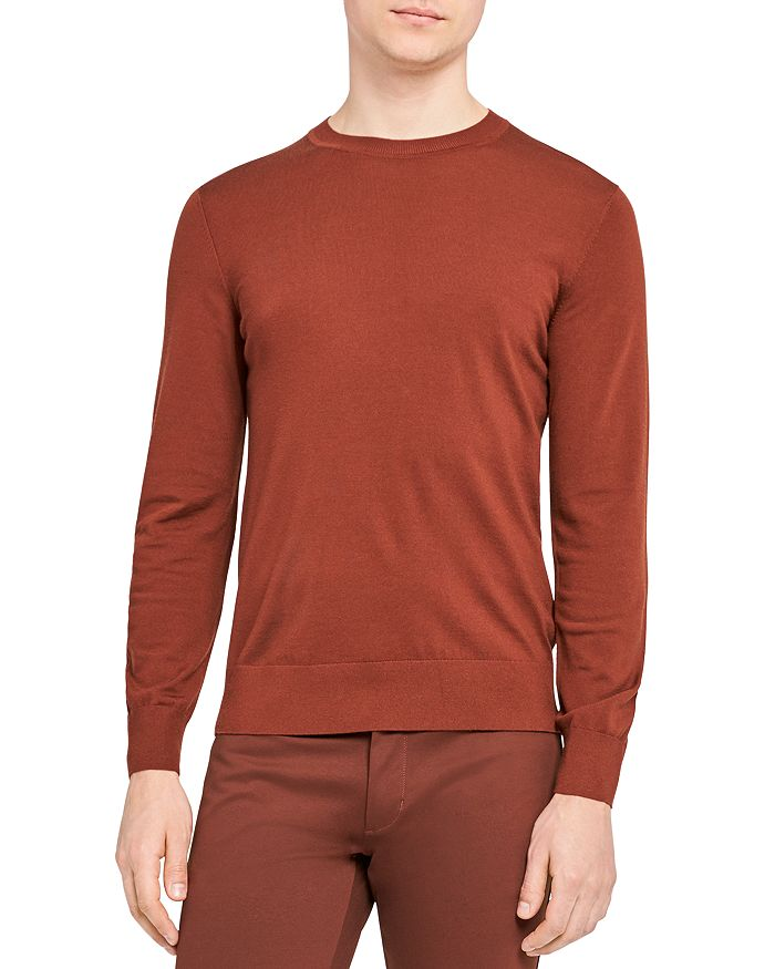 Theory - Regal Wool Crewneck Sweater