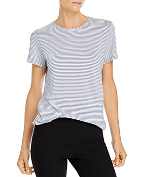 Vince - Micro Striped Short Sleeve Tee