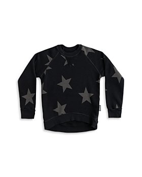 NUNUNU - Unisex Star Print Sweatshirt - Baby