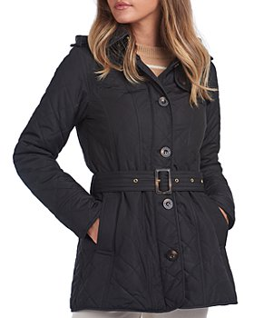 Barbour - Finstown Hooded Quilted Coat - 100% Exclusive
