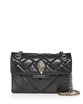 KURT GEIGER LONDON - Mini Kensington Leather Crossbody Bag