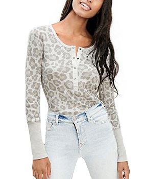 Splendid - Leopard Forever Henley
