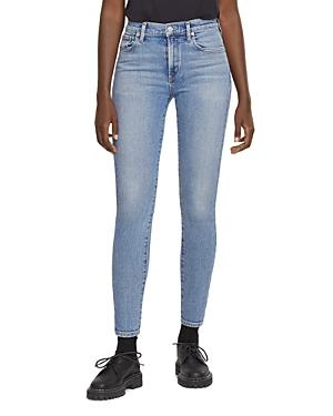 Agolde Toni Mid Rise Skinny Jeans in Precipice
