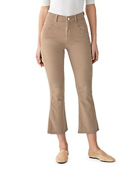 DL1961 - Bridget High Rise Cropped Kick Flare Corduroys