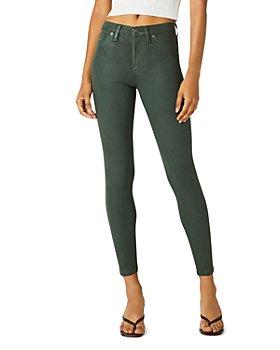 Hudson - High Waist Skinny Ankle Jeans