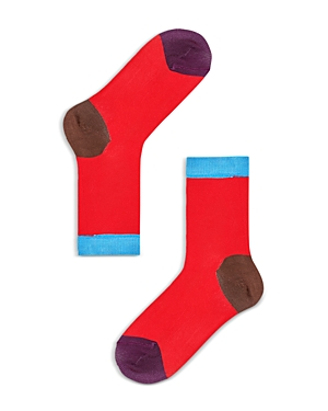 Colorblock Contrast Socks