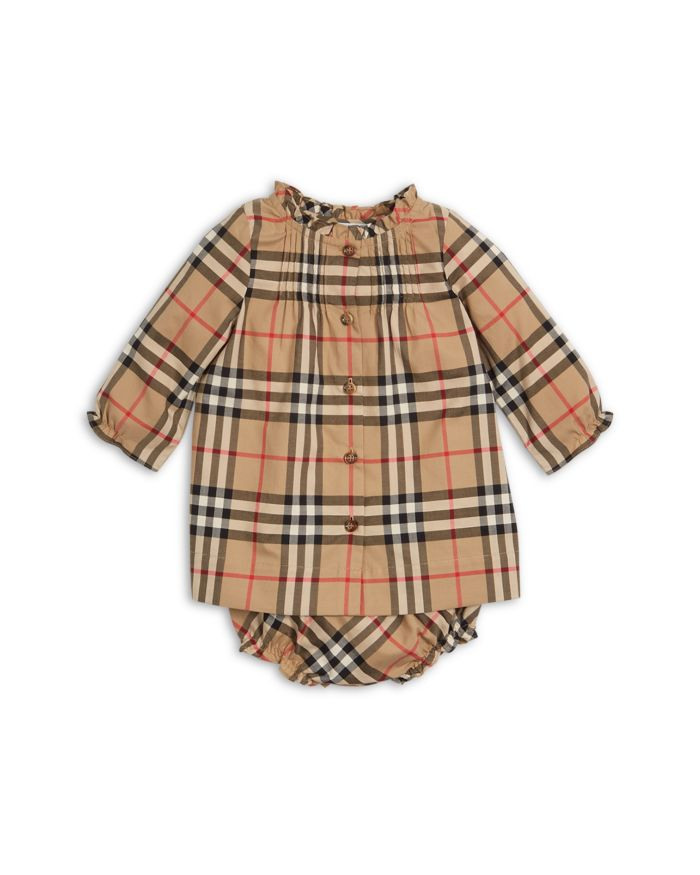 Burberry Girls'  Marissa Vintage Check Dress & Bloomers - Baby  | Bloomingdale's