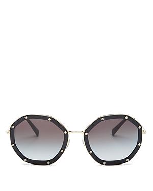 Valentino Women\\\'s Round Sunglasses, 55mm-Jewelry & Accessories
