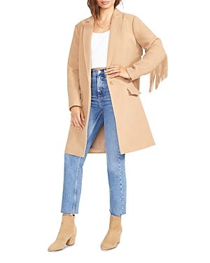 Bb Dakota x Steve Madden Fringe Trim Jacket-Women