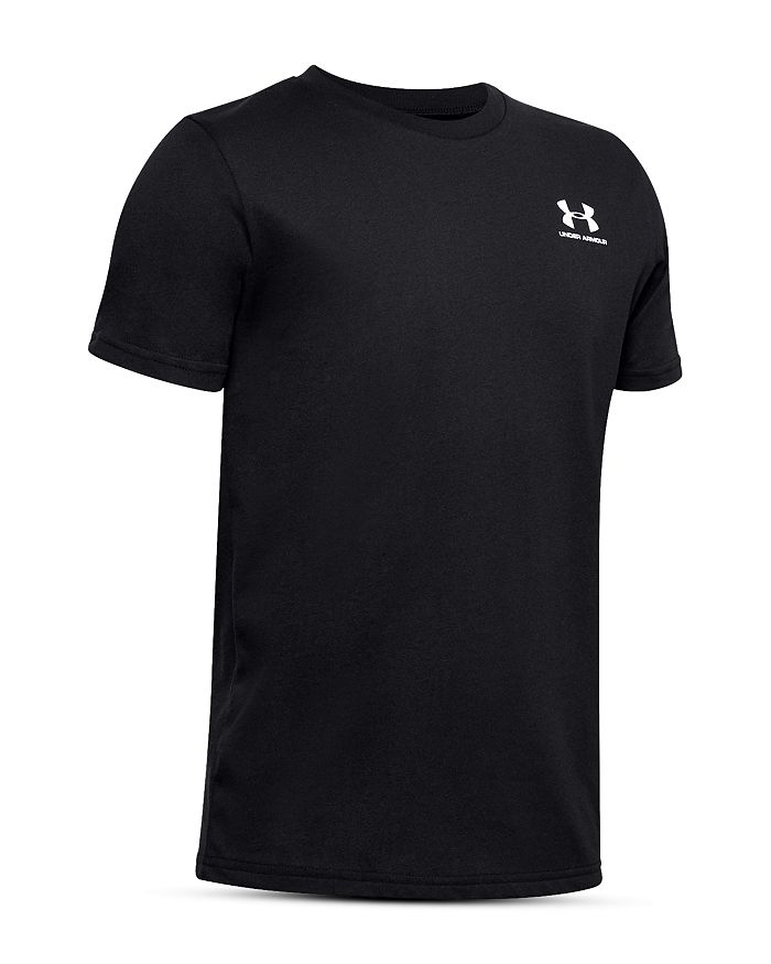 Under Armour - Boys Sportstyle Logo Tee - Big Kid