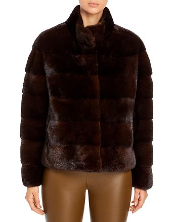 Maximilian Furs - Quilted Mink Coat – 100% Exclusive