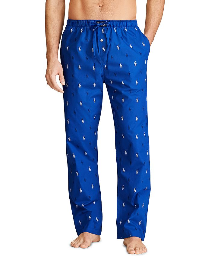 Polo Ralph Lauren - Cotton Pony Print Relaxed Fit Pajama Pants