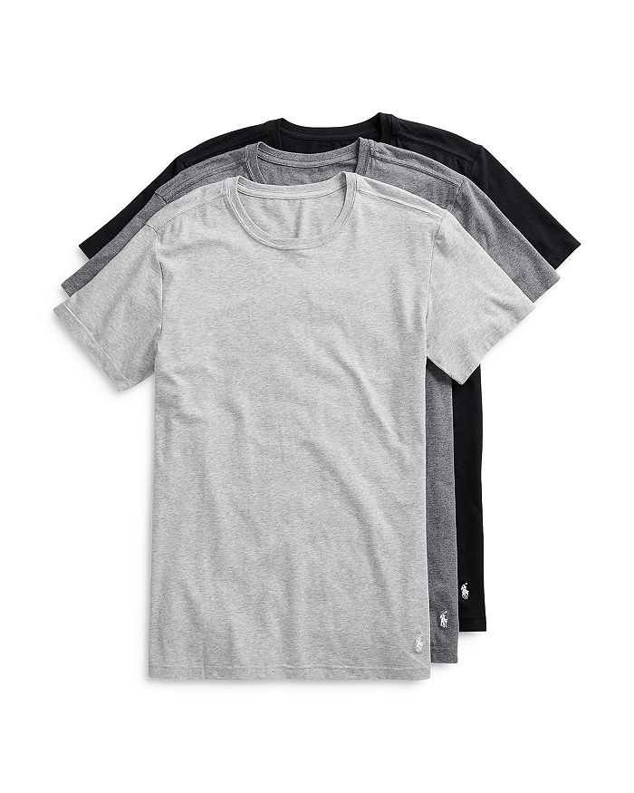 Polo Ralph Lauren - Stretch Slim Fit Sleep Tees - Pack of 3