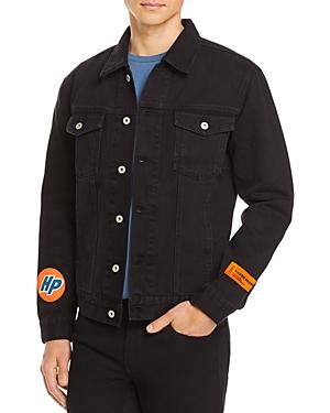 Heron Preston Denim Regular Fit Trucker Jacket-Men