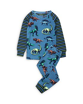 Hatley - Boys' Dino Print Cotton Pajamas - Little Kid, Big Kid