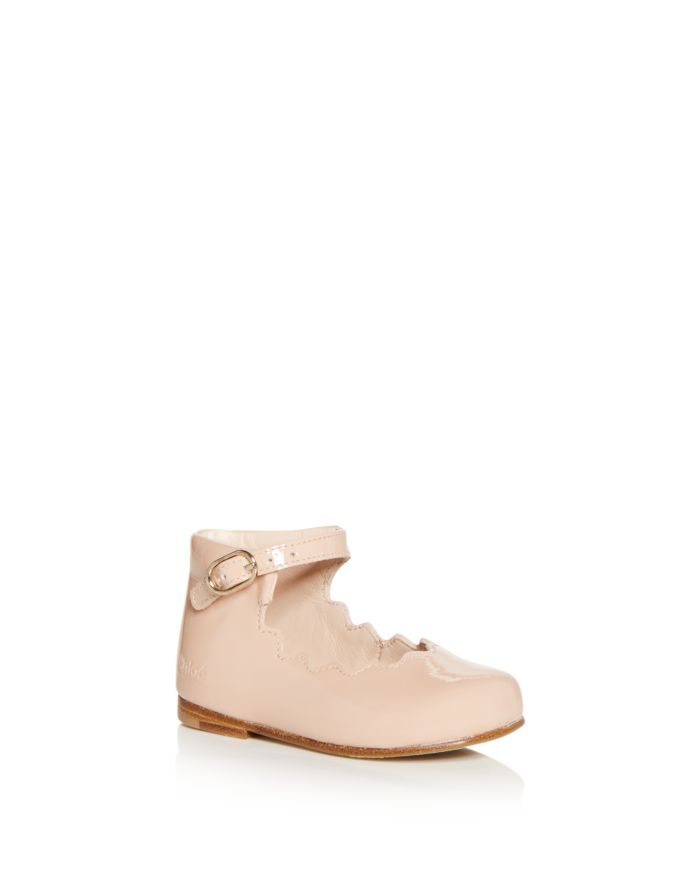 Chloé Girls' Salome Mary Jane Flats - Baby, Walker, Toddler  | Bloomingdale's