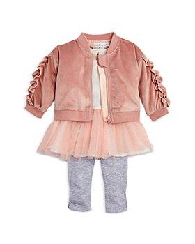 Miniclasix - Girls' Jacket, Tutu Tunic & Leggings Set - Baby