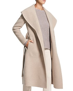 Theory - Shawl Collar Wool & Cashmere Coat