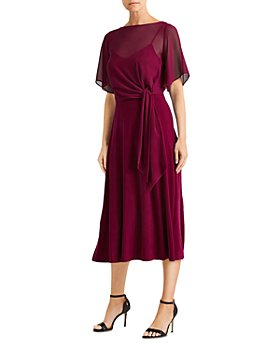 Ralph Lauren - Tie Waist Jersey Dress