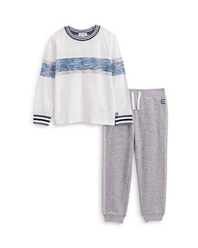 Splendid - Boys' Stripe Long Sleeve Tee & Sweatpants Set - Little Kid