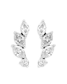 Bloomingdale's - Diamond Ear Climbers in 14K White Gold, 0.62 ct. t.w. - 100% Exclusive