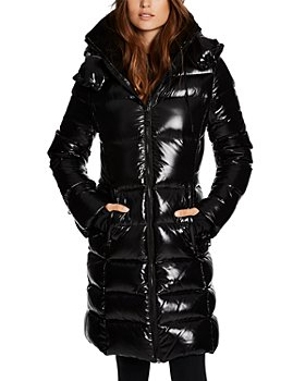 SAM. - Savannah Shearling Collar Hooded Puffer Coat