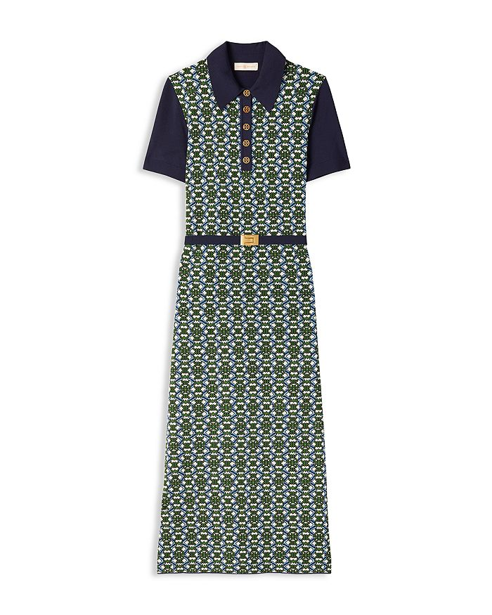 Tory Burch - Gemini Link Jacquard Dress
