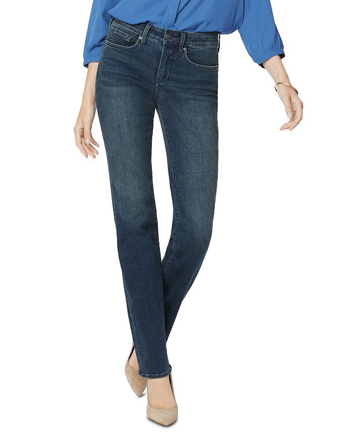 Nydj Petites Marilyn Straight-leg Jeans In Quentin In Prosperity