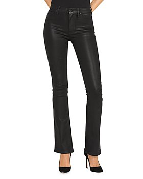 Hudson - Bootcut Jeans in Noir Coated