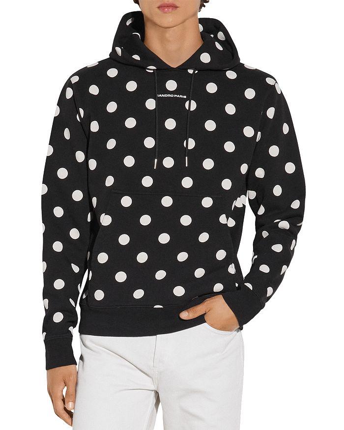 Sandro - Cotton Dots Hoodie