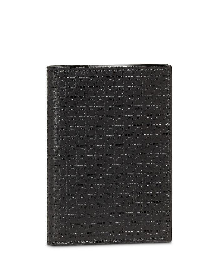 Salvatore Ferragamo - Gancio Embossed Leather Cardholder