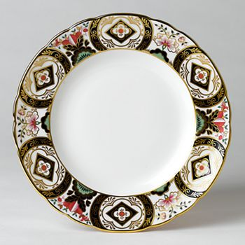 "Royal Crown Derby - ""Chelsea Garden"" Dinner Plate"