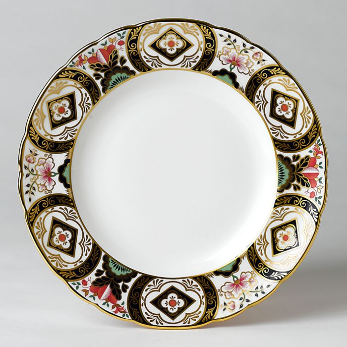 "Royal Crown Derby - ""Chelsea Garden"" Dinner Plate"