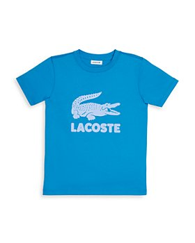 Lacoste - Boys' Cotton Logo Print Tee - Little Kid, Big Kid