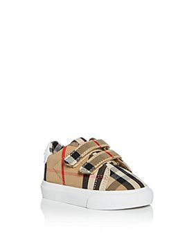 Burberry - Unisex Markham Vintage Check Sneakers - Baby, Walker
