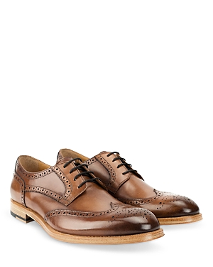 Men's Percy Burnished Leather Dress Shoes
