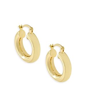 Adina's Jewels Chunky Hollow Hoop Earrings