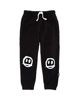 NUNUNU - Boys' Sprayed Smile Jogger Pants - Little Kid