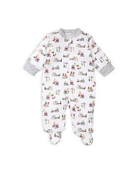Kissy Kissy - Boys' Construction Print Footie - Baby