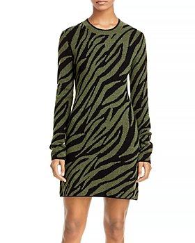 PAM & GELA - Zebra Print Mini Dress