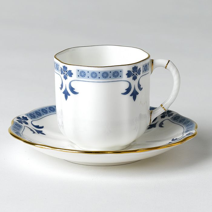 """Royal Crown Derby - """"Grenville"""" Coffee Cup"""
