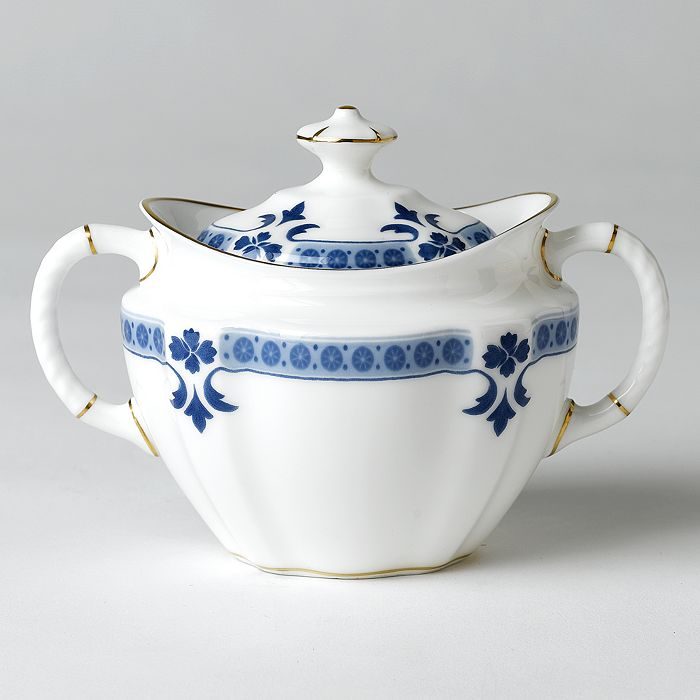 "Royal Crown Derby - ""Grenville"" Covered Sugar Bowl"