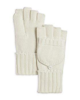 C by Bloomingdale's - Pop-Top Gloves - 100% Exclusive