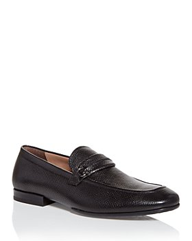 Salvatore Ferragamo - Men's Raion Lizard Embossed Slip On Loafers
