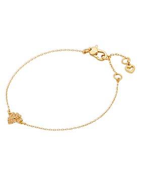 kate spade new york - Pavé Flower Link Bracelet